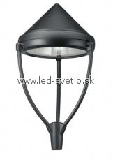 Astra Cono Tripode Vonkajšie svietidlo Svietidlo pre použitie na už existujúce stĺpy s priemerom o 60 mm