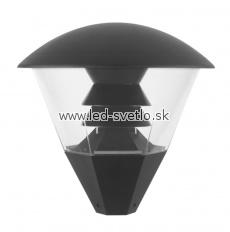 Barcellona Eco - Vonkajšie svietidlo Svietidlo pre použitie na už existujúce stĺpy s priemerom o 60 mm