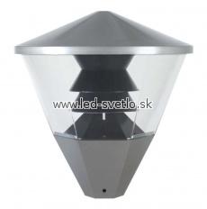 Barrio Eco - Vonkajšie svietidlo Svietidlo pre použitie na už existujúce stĺpy s priemerom o 60 mm